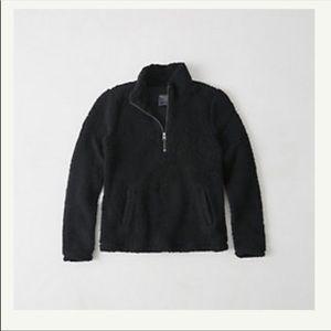 Half zip Sherpa
